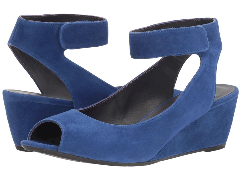Vaneli - Wiley (Jordan Blue Suede) Women's Wedge Shoes