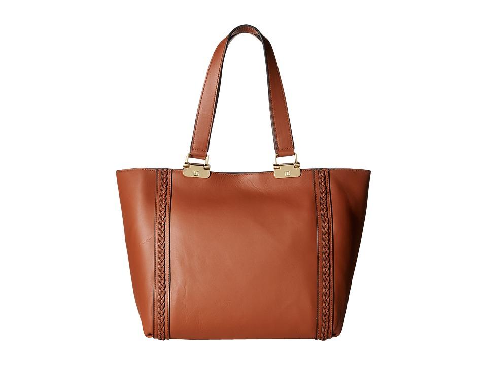Ivanka Trump - Briarcliff Double Shoulder (Saddle) Shoulder Handbags