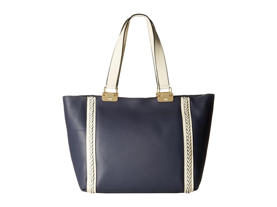 Ivanka Trump - Briarcliff Double Shoulder (Navy 1) Shoulder Handbags