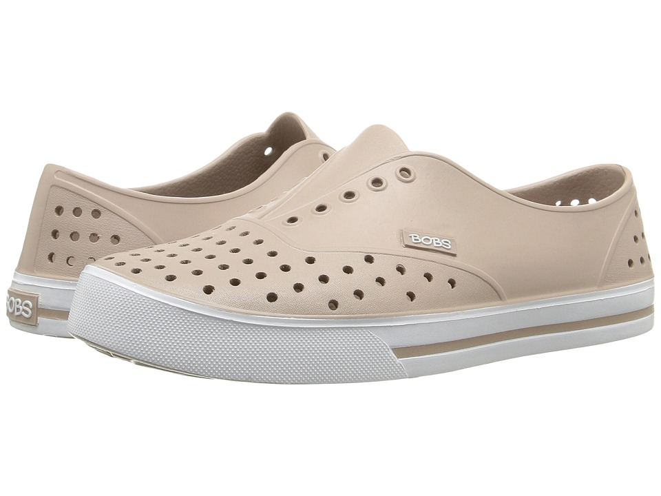 BOBS from SKECHERS - Aquamenace (Taupe) Women's Slip on Shoes