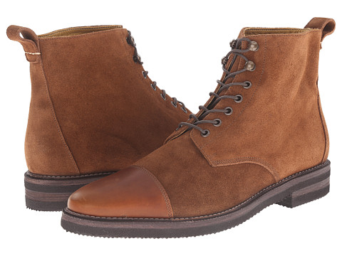 Billy Reid - Kieran Boot (Chestnut) Men's Lace-up Boots