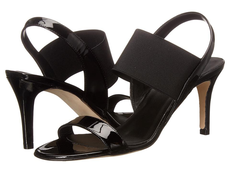 Vaneli - Tinin (Black Patent/Black Elastic/Black Porolining) High Heels