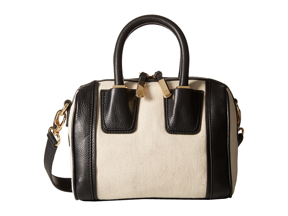 Ivanka Trump - Doral Mini Barrel Satchel (Black) Satchel Handbags