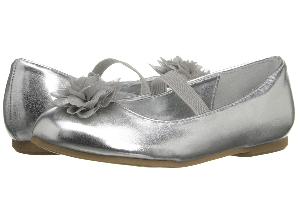 Nina Kids - Delta2-T (Toddler/Little Kid) (Silver) Girl