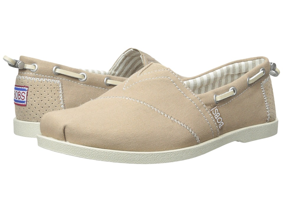 BOBS from SKECHERS Chill Luxe Dockside (Taupe) Women