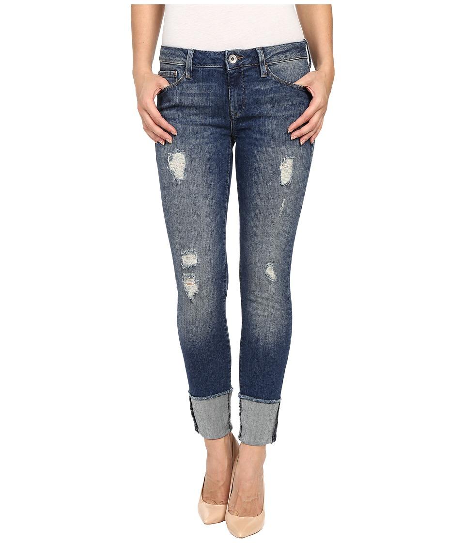 Mavi Jeans - Erica in Indigo Ripped Vintage (Indigo Ripped Vintage) Women's Jeans plus size,  plus size fashion plus size appare