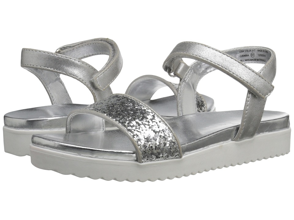 Nina Kids - Gazmin (Toddler/Little Kid/Big Kid) (Silver) Girls Shoes