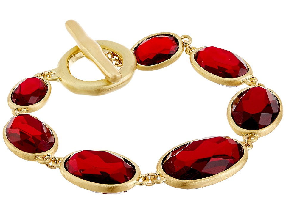 Karen Kane - Reflection Pool Link Bracelet (Red) Bracelet