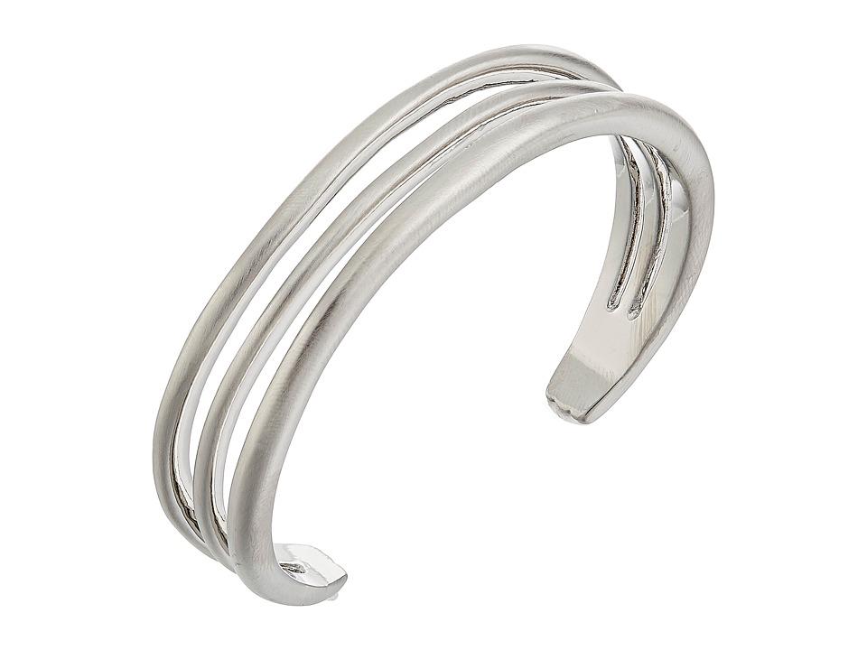Karen Kane - New Moon Cuff Bracelet (Silver) Bracelet