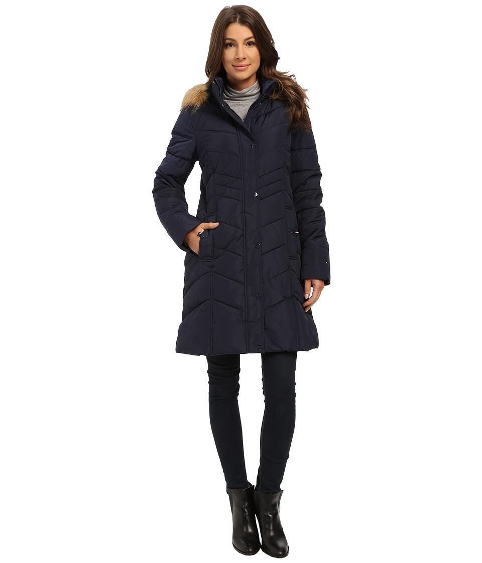 Tommy Hilfiger - TW5MP065 (Navy) Women's Coat