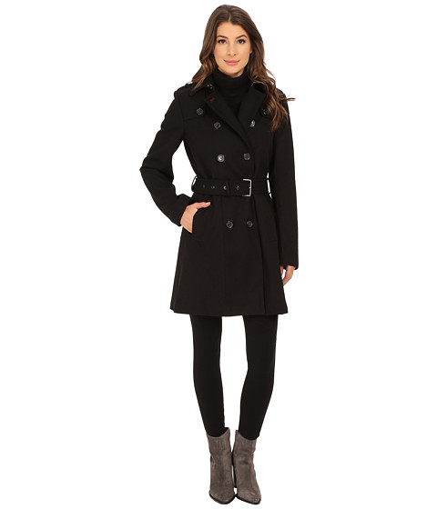 Tommy Hilfiger - TW5MW214 (Black) Women's Coat