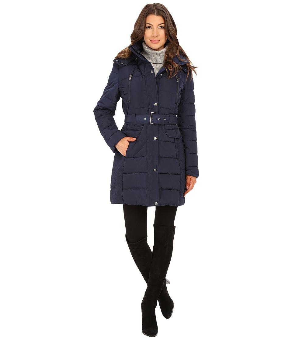 Tommy Hilfiger - TW5MP060 (Navy) Women's Coat