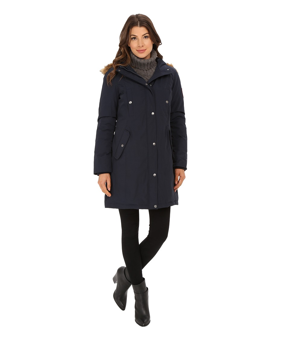 Tommy Hilfiger - TW5MP307 (Navy) Women's Coat