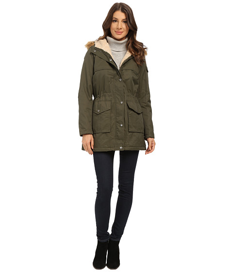 Tommy Hilfiger - TW5MC226 (Army Green) Women's Coat