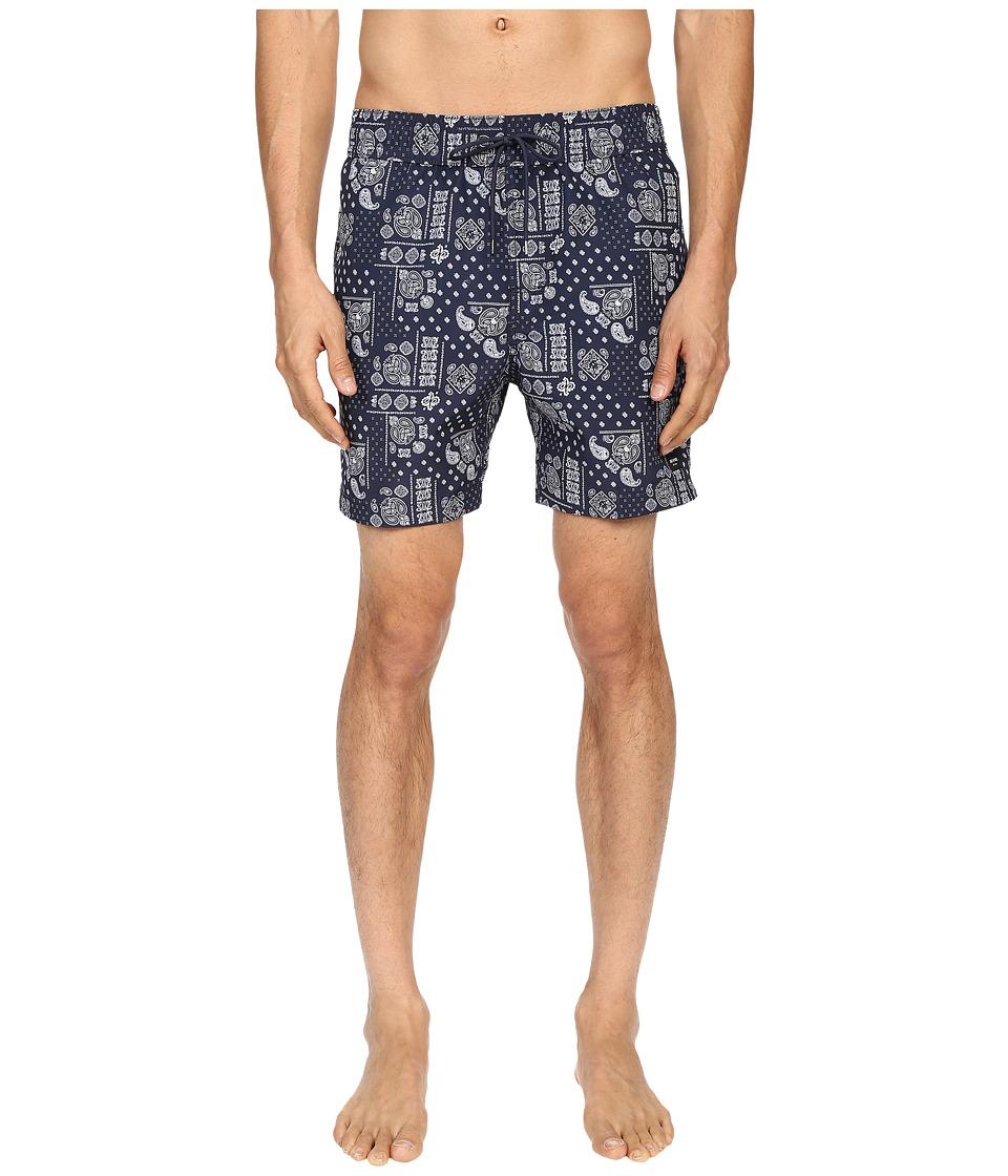 d154c204f7 ... UPC 716453927961 product image for Jack Spade - Bandana Grannis Swim  Trunks (Navy) Men's