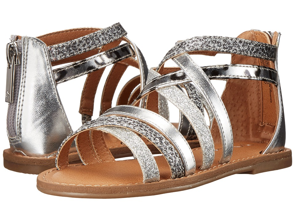 Nina Kids - Honey (Toddler/Little Kid/Big Kid) (Silver) Girls Shoes