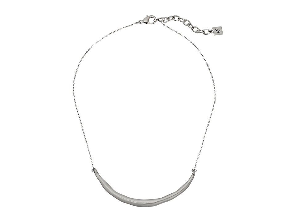 Karen Kane - New Moon Collar Necklace (Silver) Necklace