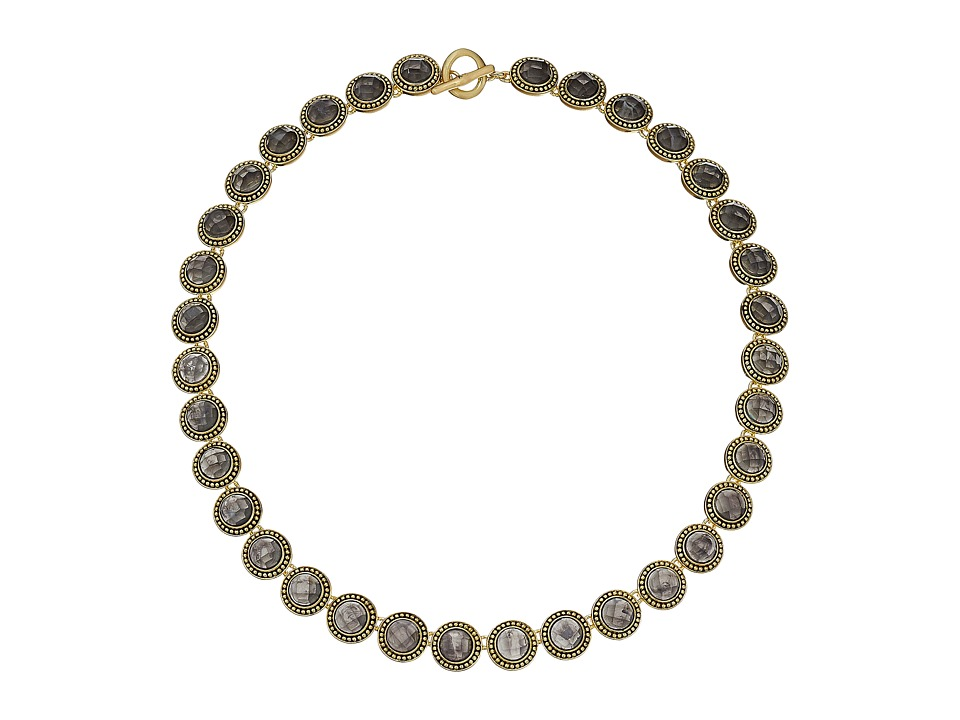 Karen Kane - Everbloom Eternity Collar Necklace (Grey) Necklace