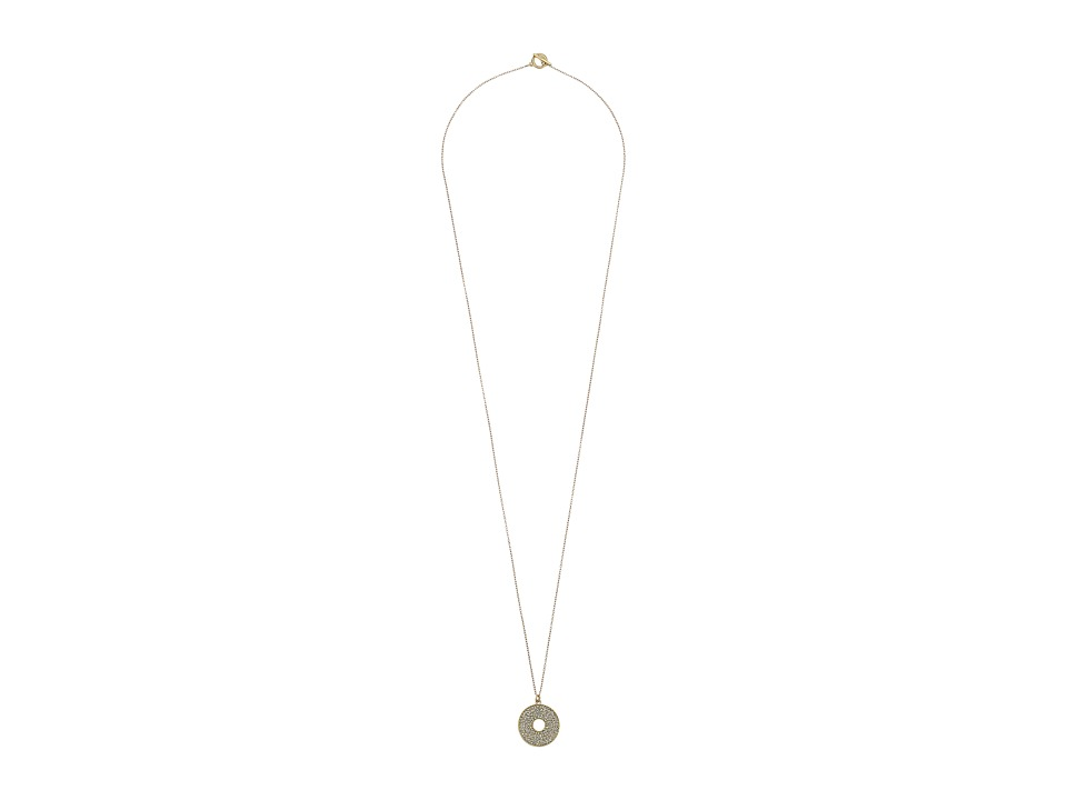 Karen Kane - Iris Open Disc Pendant Necklace (Gold) Necklace