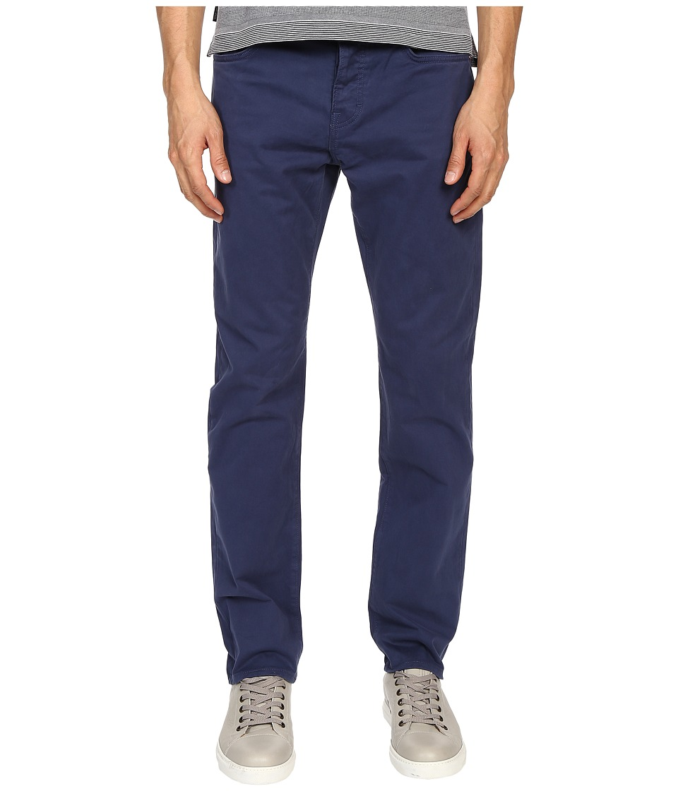Jack Spade - Stonehill Slim Fit Five-Pocket Trousers (Insignia Blue) Men's Casual Pants