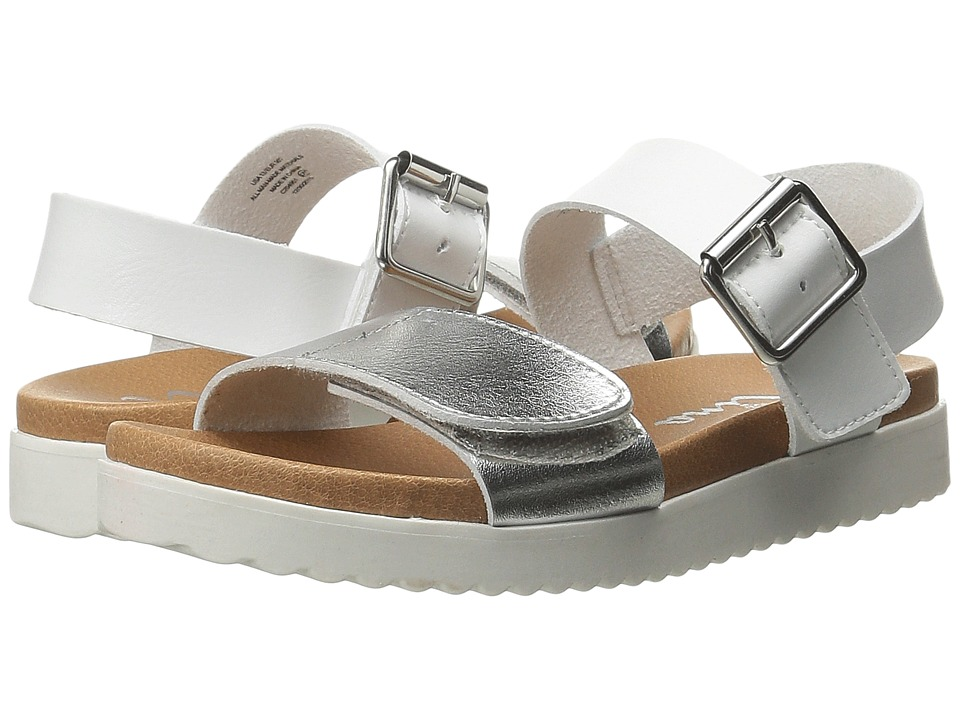 Nina Kids - Kathi (Little Kid/Big Kid) (Whtie/Silver) Girls Shoes