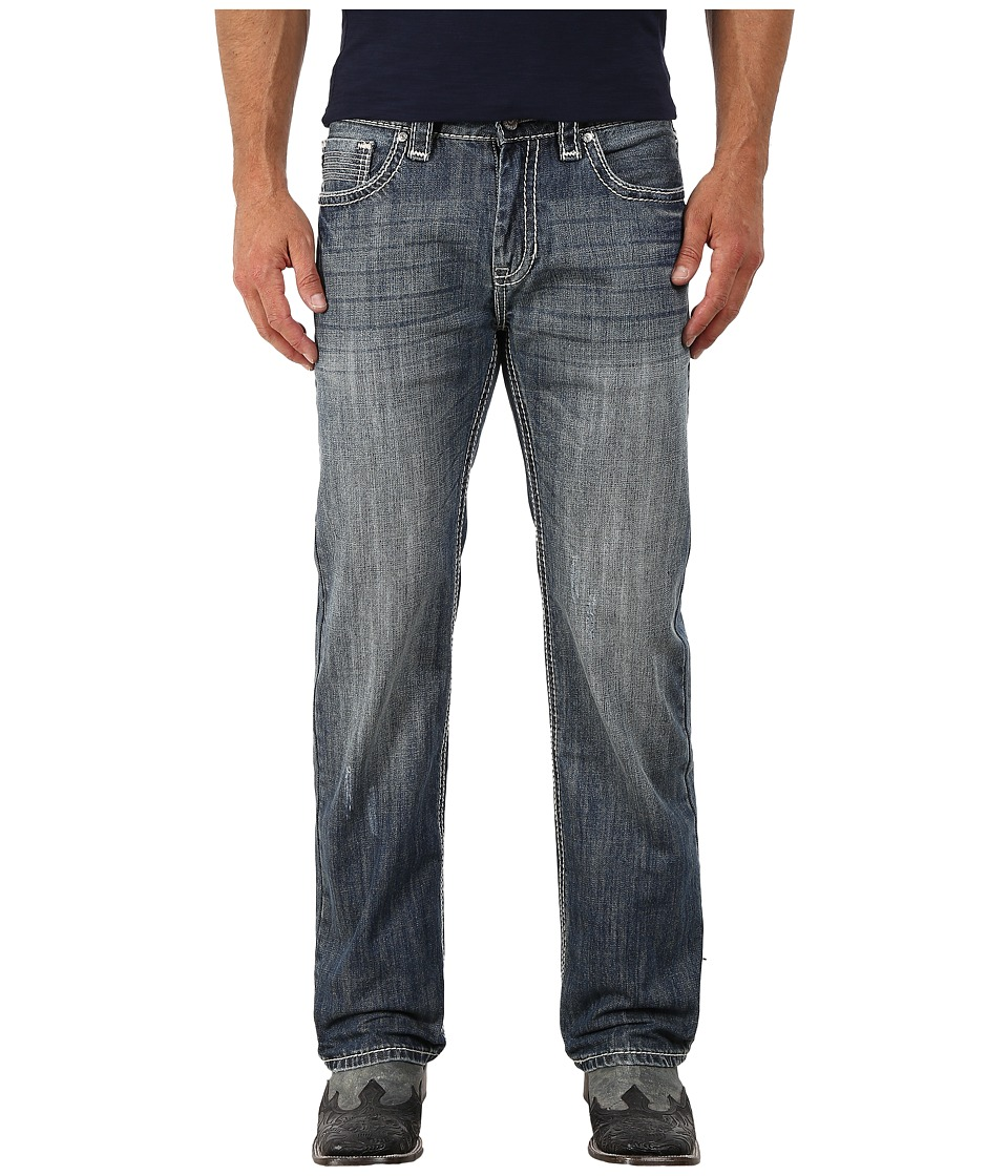 Rock and Roll Cowboy - Pistol Regular Fit in Medium Vintage M1P4941 (Medium Vintage) Men's Jeans