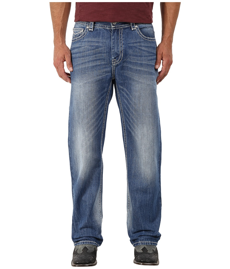 Rock and Roll Cowboy - Double Barrel Relax in Light Vintage M0S4932 (Light Vintage) Men's Jeans
