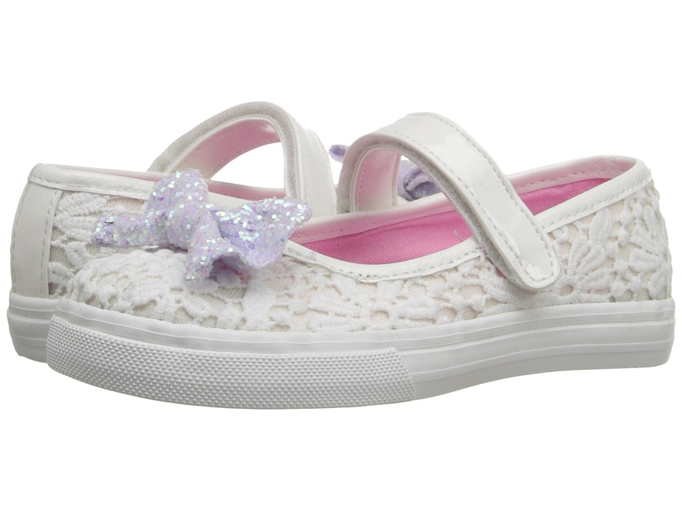 Nina Kids - Liv (Toddler/Little Kid) (White) Girl's Shoes