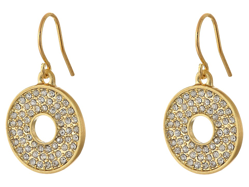 Karen Kane - Iris Open Disc Earrings (Gold) Earring