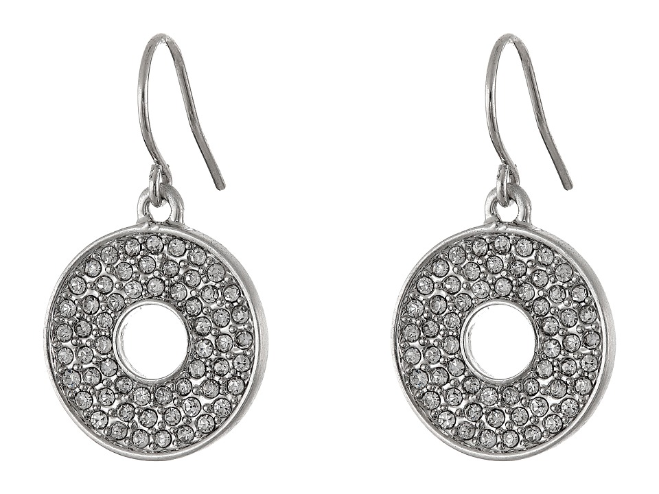 Karen Kane - Iris Open Disc Earrings (Silver) Earring