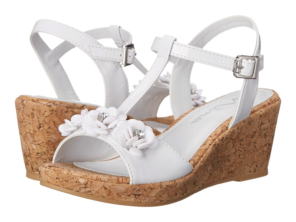 Nina Kids - Suzy (Little Kid/Big Kid) (White) Girl's Shoes