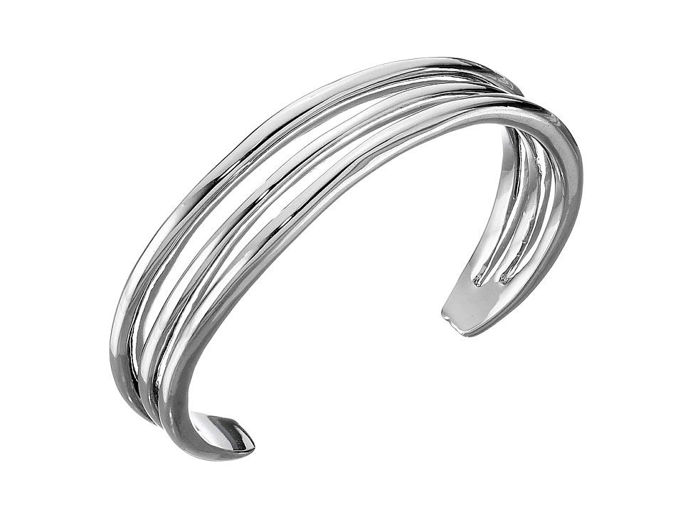 Karen Kane - New Moon Cuff Bracelet (Silver 1) Bracelet