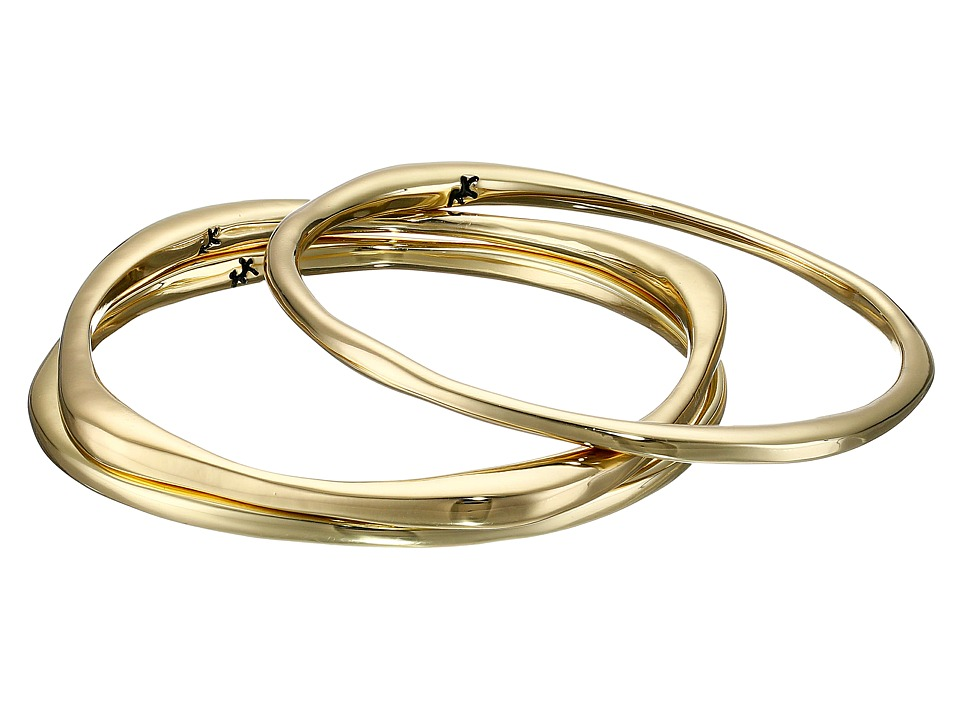 Karen Kane - New Moon Stack Bangles Bracelet (Gold 1) Bracelet