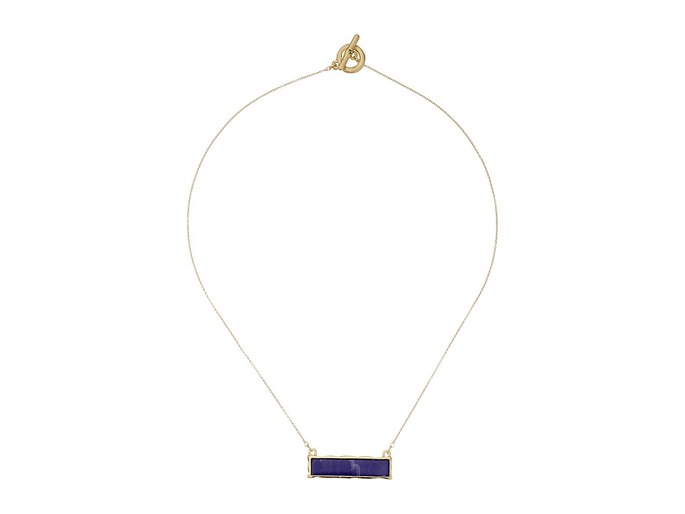 Karen Kane - Stellar Reversible Pendant Necklace (Blue) Necklace