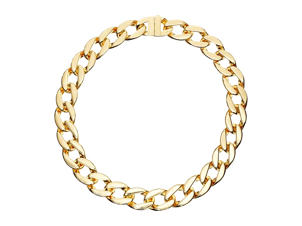 Karen Kane - Secret Garden Collar Necklace (Gold) Necklace