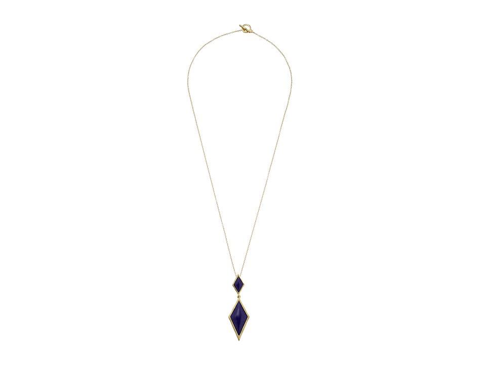 Karen Kane - Southern Sky Pendant Necklace (Blue) Necklace