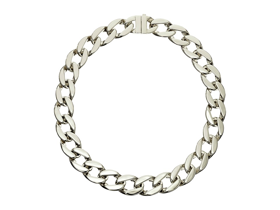 Karen Kane - Secret Garden Collar Necklace (Silver) Necklace