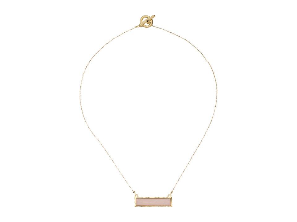 Karen Kane - Stellar Reversible Pendant Necklace (Pink) Necklace