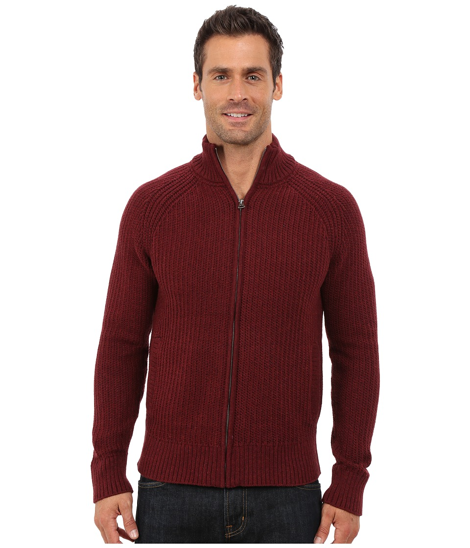 Lucky Brand - Glacier Peak Zip Cardigan (Autumn Tint) Men's Sweater