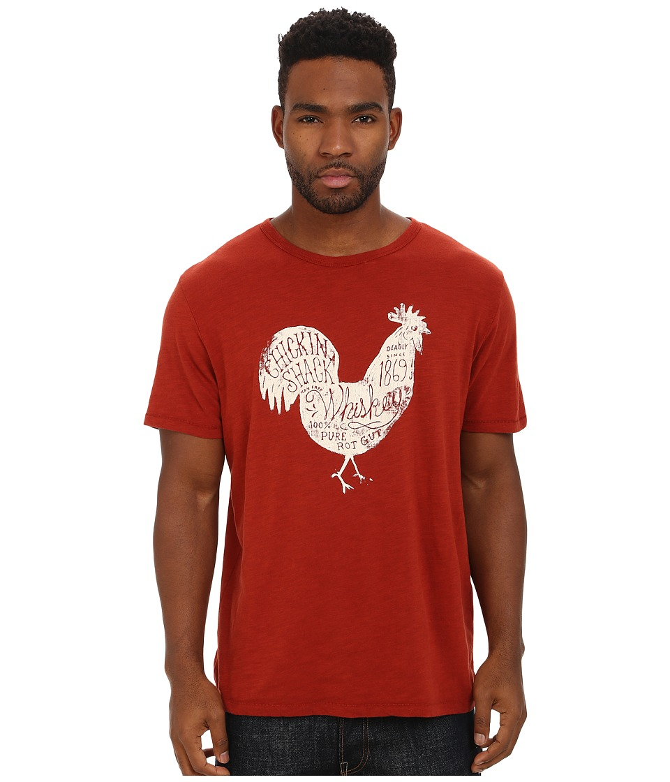 Lucky Brand - Chicken Shack Graphic Tee (Redwood) Men's T Shirt