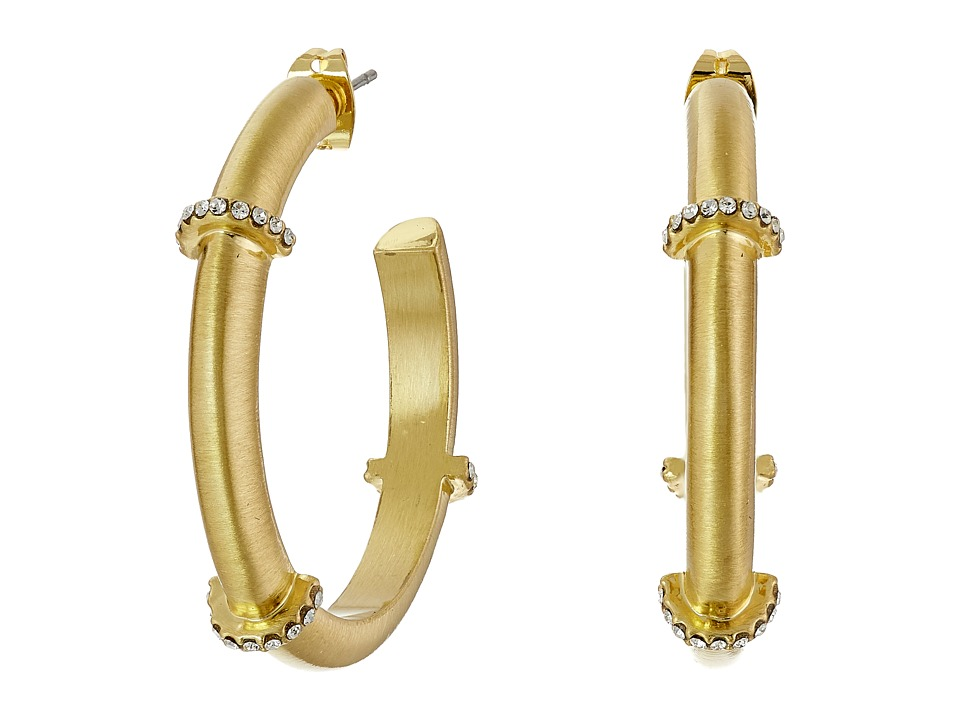 Karen Kane - Wonderland Hoop Earrings (Gold) Earring