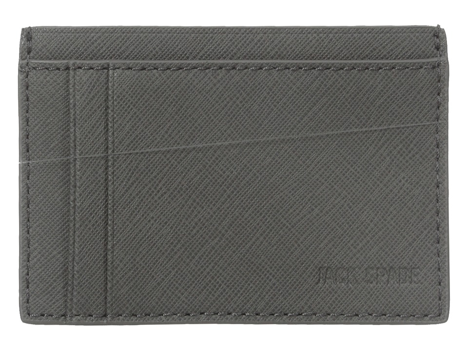Jack Spade - Barrow Leather ID Wallet (Grey) Wallet