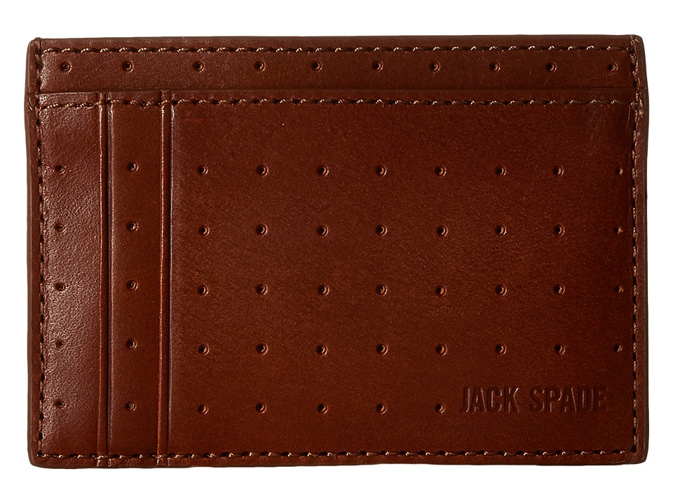 Jack Spade - 610 Leather ID Wallet (Tobacco) Wallet Handbags