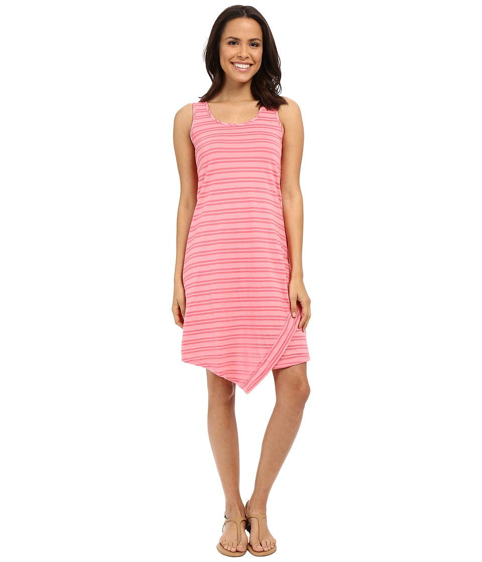 Mod-o-doc Tonal Tencel Stripe Tank Dress (Rose) Women