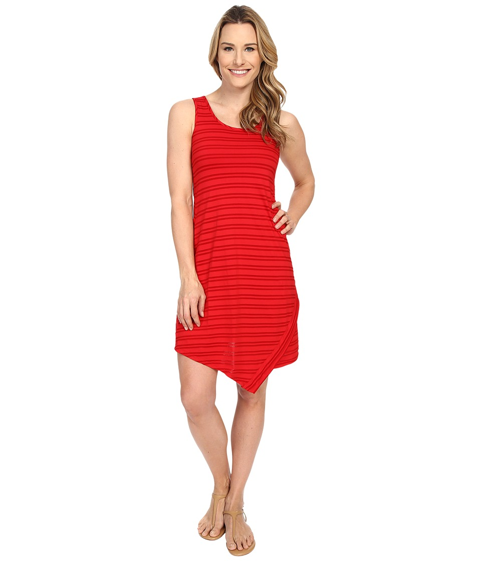 Mod-o-doc Tonal Tencel Stripe Tank Dress (Zinnia) Women