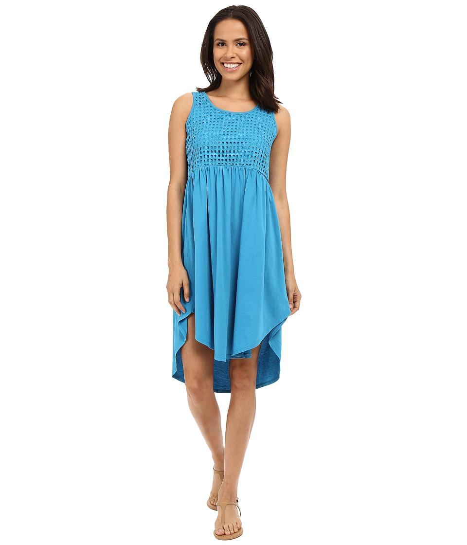 Mod-o-doc - Supreme Jersey Eyelet Panel Tank Dress (Hypnotic) Women's Dress