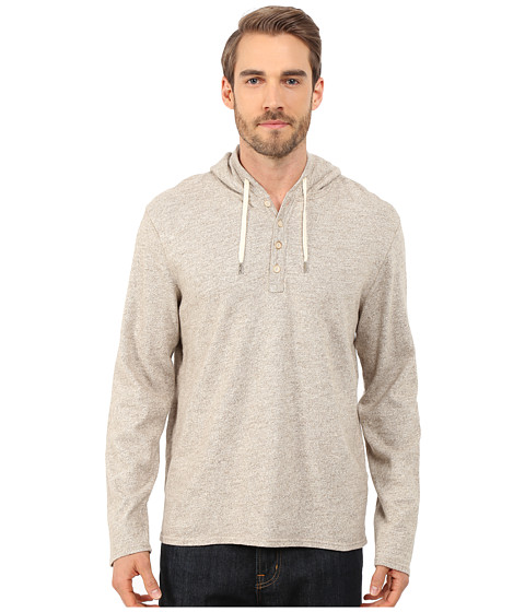 Lucky Brand - Sueded Jersey Hoodley (Oatmeal) Men's Sweatshirt