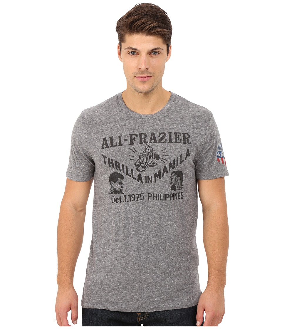 Lucky Brand - Ali Frazier Graphic Tee (Grey) Men's T Shirt