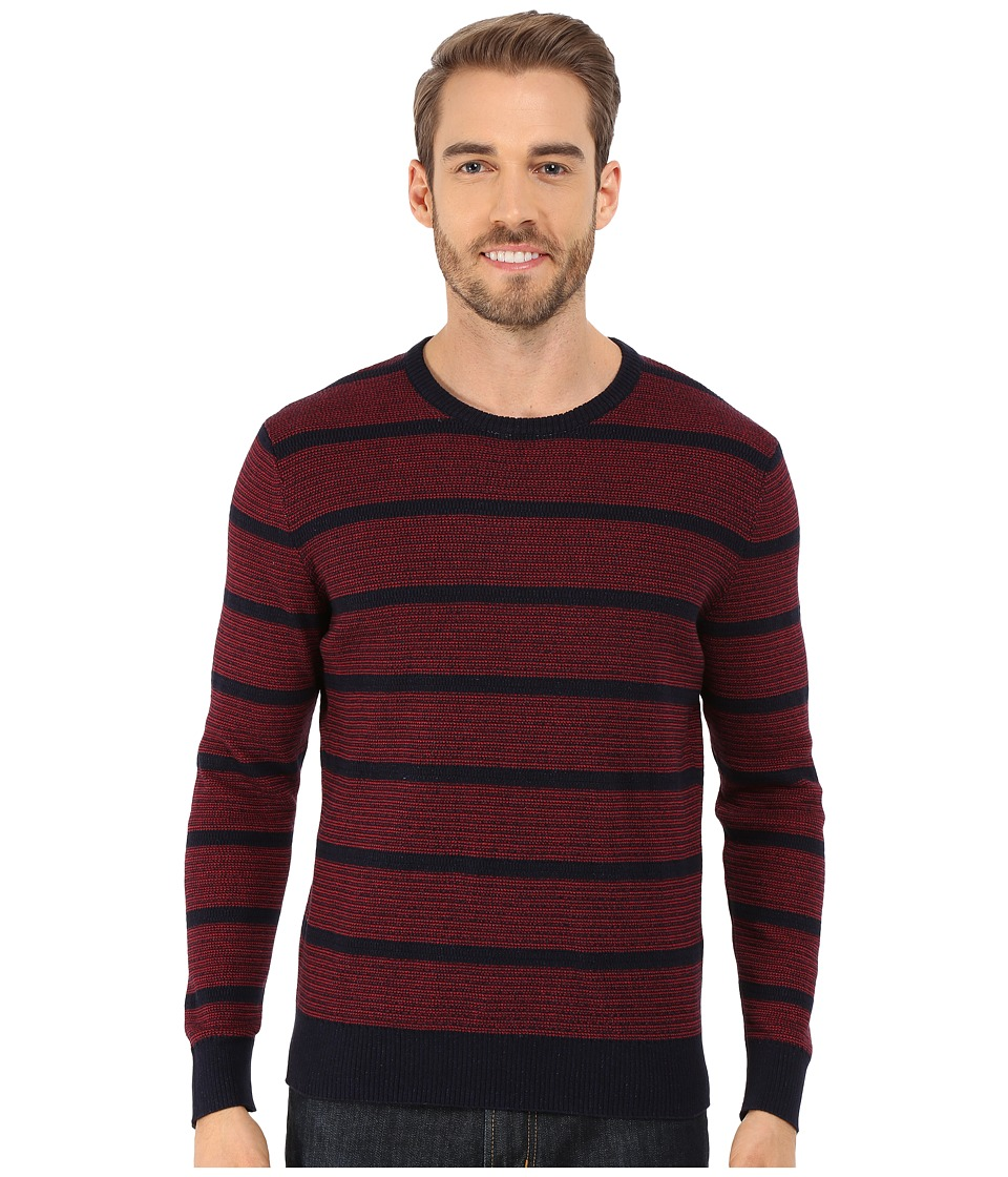 Lucky Brand - Holiday Indigo Crew (Multi) Men's Sweater