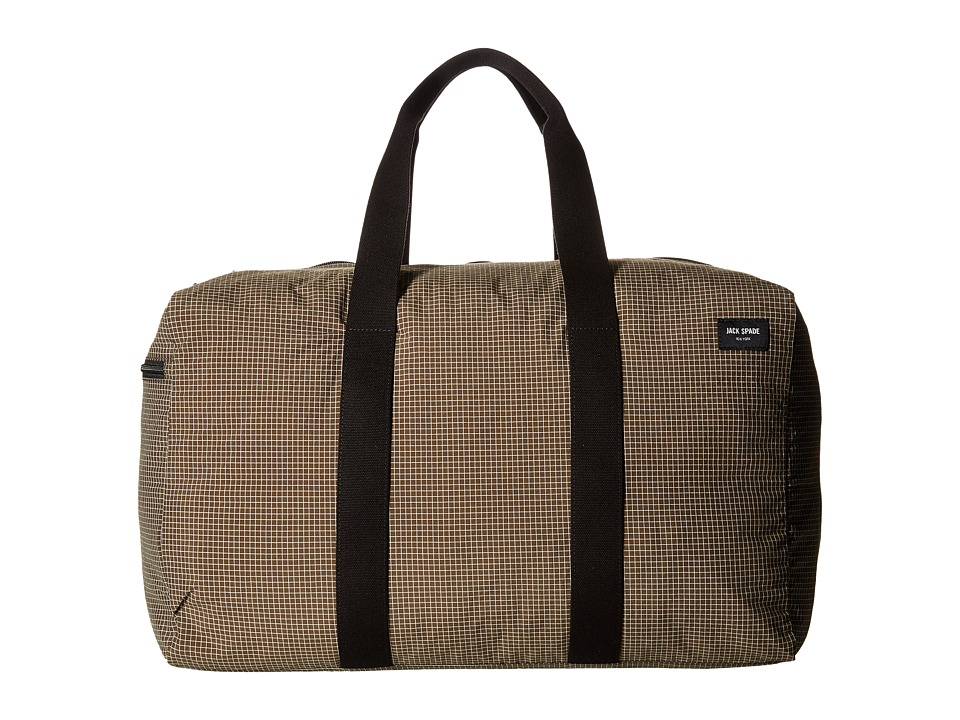 Jack Spade - Packable Graph Check Duffel Bag (Tank) Duffel Bags